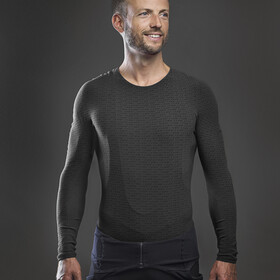 GripGrab Freedom Seamless Thermal Langarm Baselayer black
